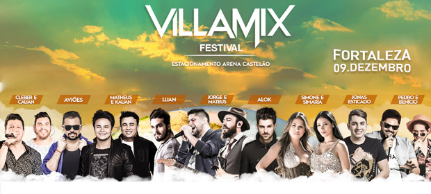 Villa Mix Festival Fortaleza Ingressos Efolia